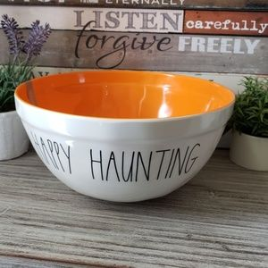 NEED GONE Rae Dunn HAPPY HAUNTING Halloween Bowl